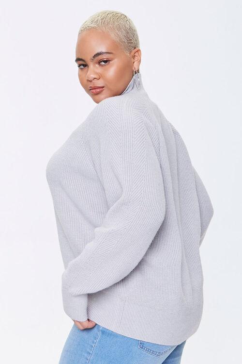 Plus Size Turtleneck Sweater, image 2
