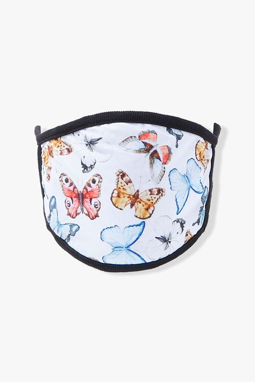 Butterfly Print Face Mask, image 2