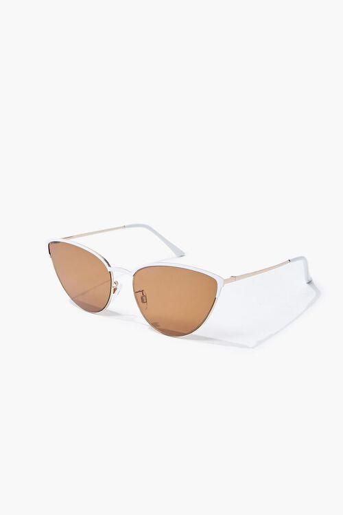 Cat-Eye Metal Sunglasses, image 2