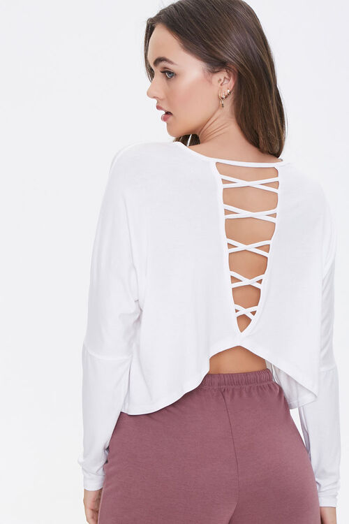 Active Caged-Back Top, image 1