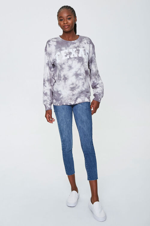 Tie-Dye Texas Graphic Pullover, image 4