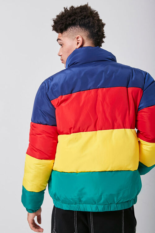Colorblock Puffer Jacket, image 3