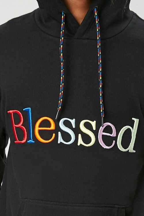 Blessed Embroidered Graphic Hoodie, image 5