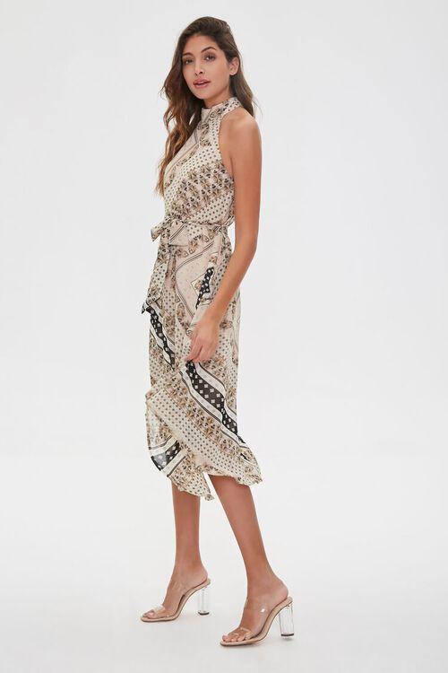 Ornate Patchwork Print Dress, image 3