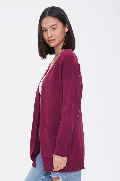 Drop-Sleeve Cardigan Sweater, image 2