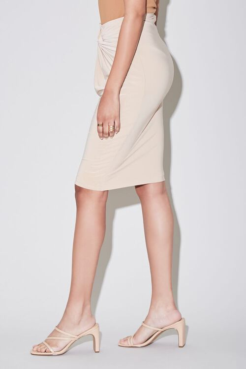 Knotted Pencil Skirt, image 3