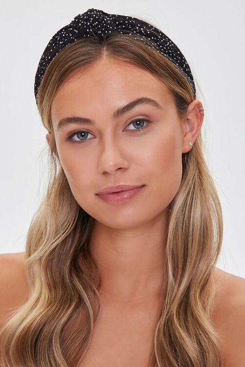 Spotted Knotted Headband, image 1
