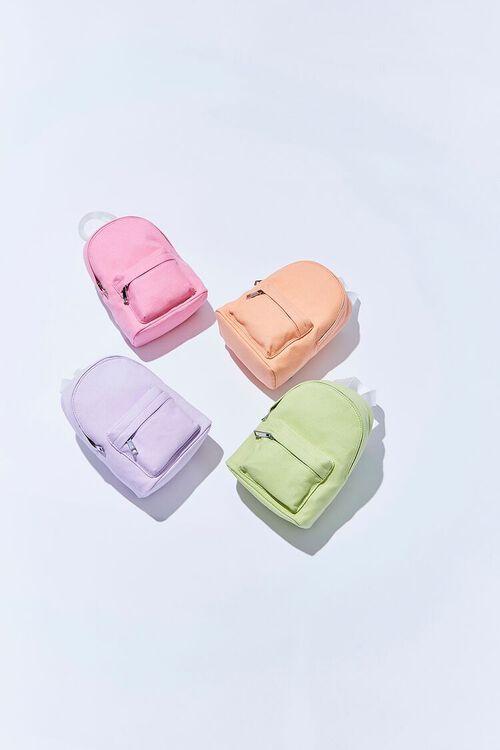 Zippered Brushed Backpack, image 1