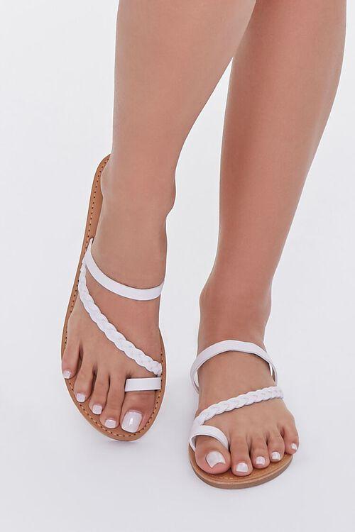 Braided Toe Loop Sandals, image 4