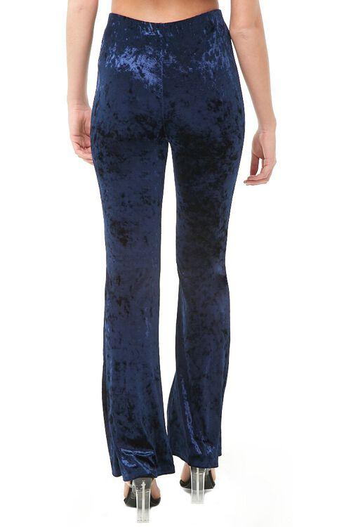 Crushed Velvet Flare Pants, image 4