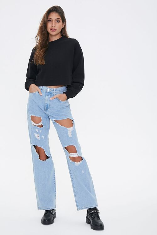 Destroyed 90s Fit Jeans, image 4