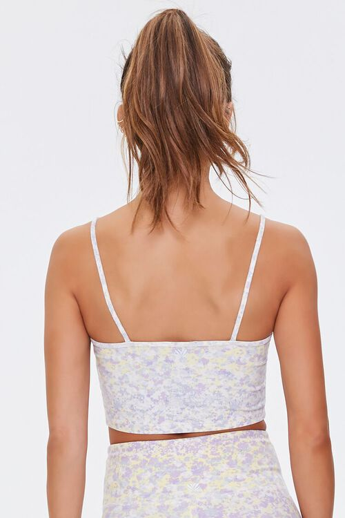 Active Floral Cropped Cami, image 3