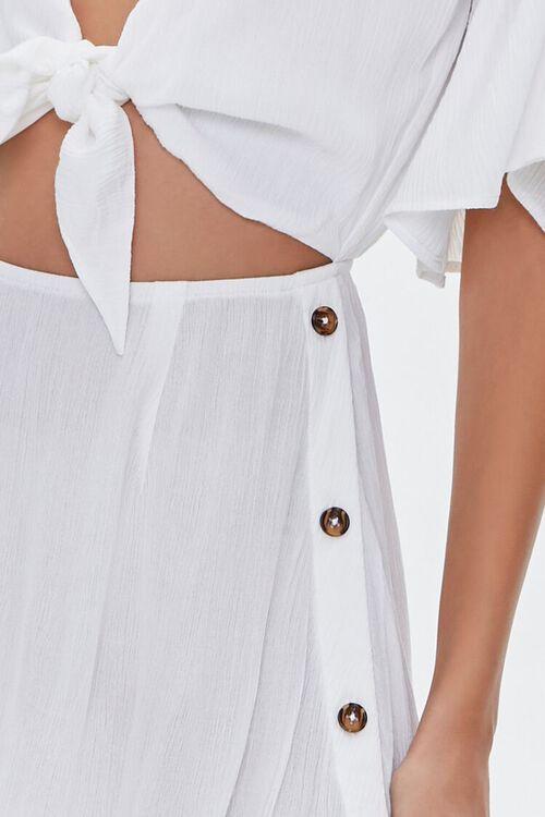 Tie-Front Swim Cover-Up Dress, image 5
