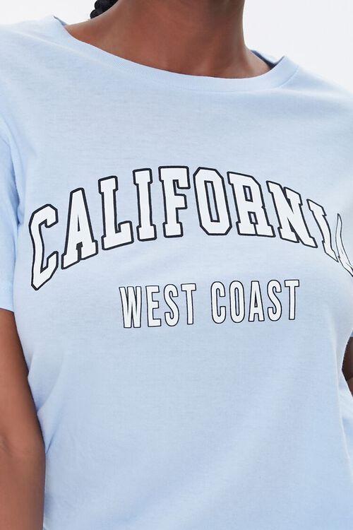 SKY BLUE/MULTI California Graphic Tee, image 5