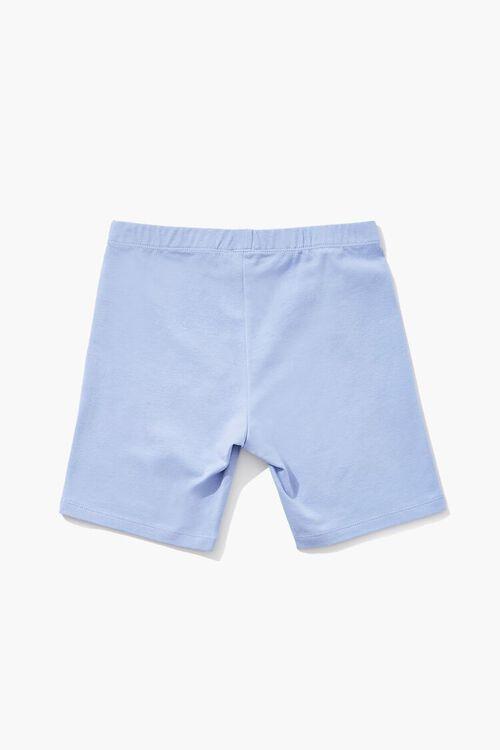 Girls Organically Grown Cotton Biker Shorts (Kids), image 2