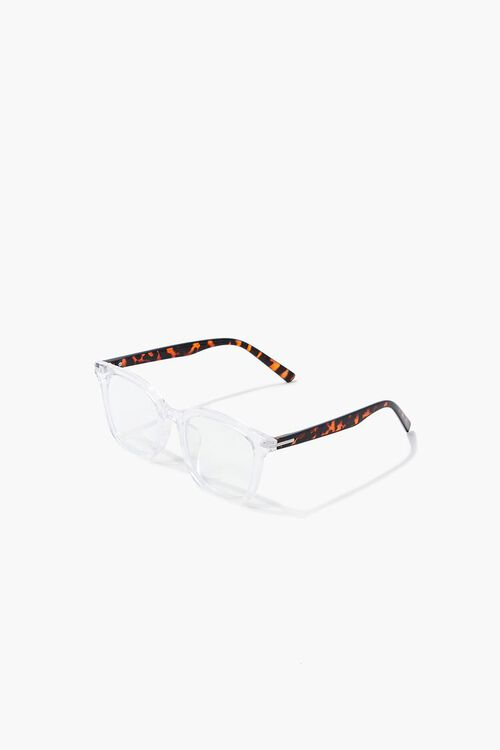 CLEAR/CLEAR Blue Light Reader Glasses, image 4