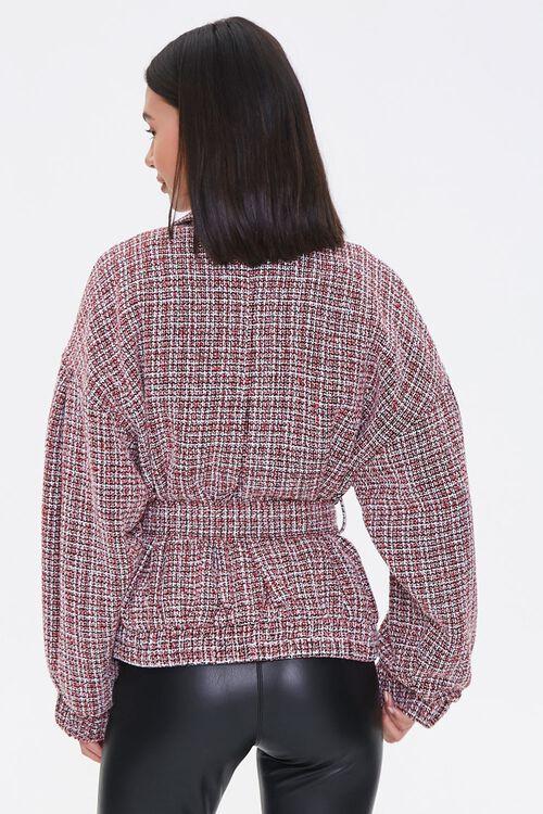 Tie-Waist Tweed Jacket, image 3