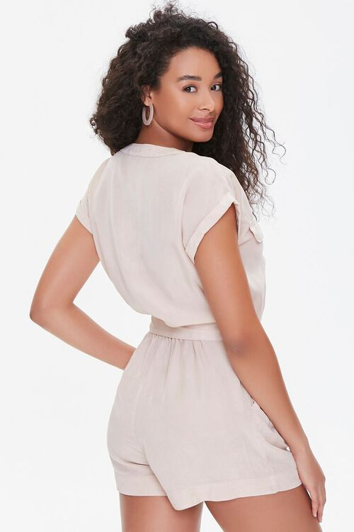 Buttoned Flap Romper, image 3