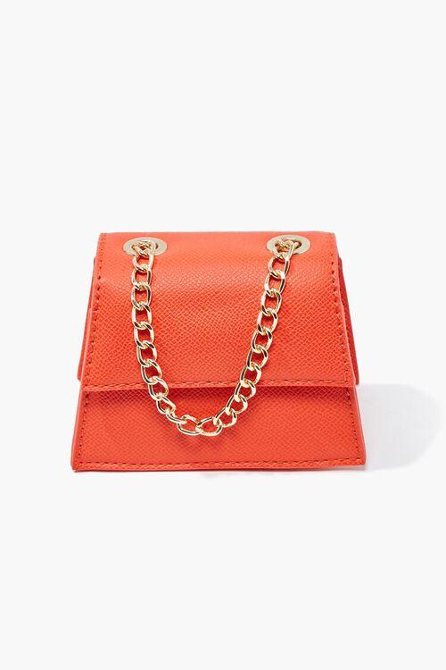 Mini Faux Leather Crossbody Bag, image 2