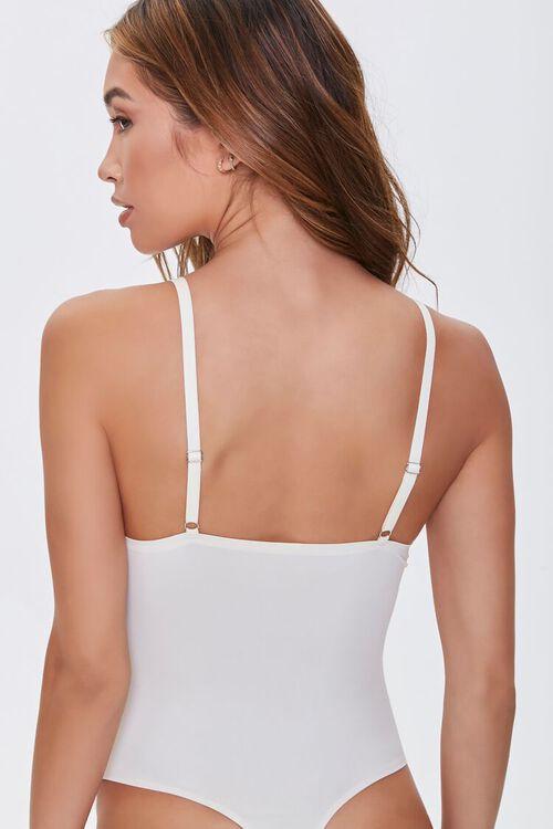 Scalloped Microfiber Bodysuit, image 3
