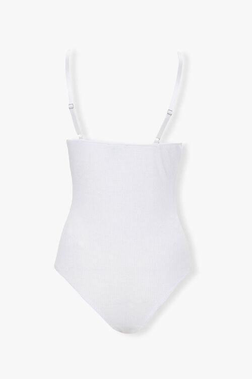 Ribbed Eyelash Lace Bodysuit, image 2