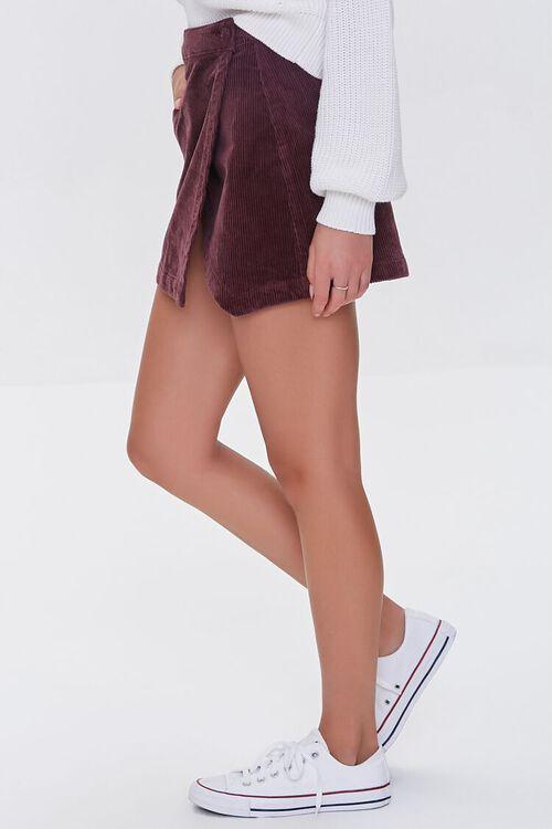 CHOCOLATE Corduroy Mini Skirt, image 3