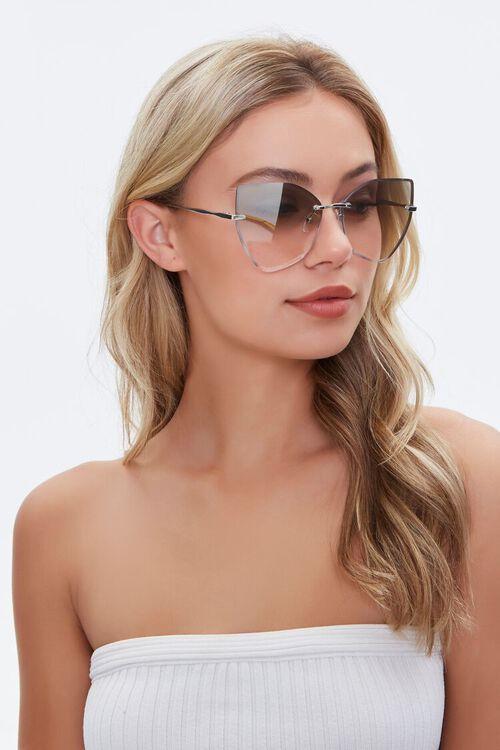 Tinted Cat-Eye Sunglasses, image 3