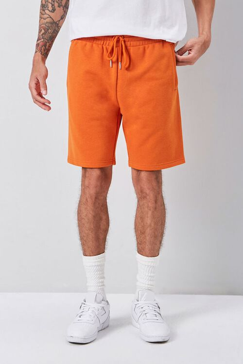 Heathered Drawstring Shorts, image 2