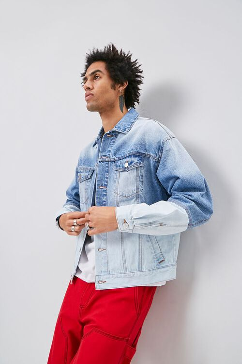 Two-Toned Denim Jacket, image 4
