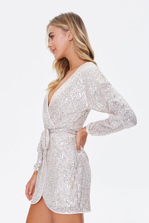 Glittered Wrap Dress, image 2