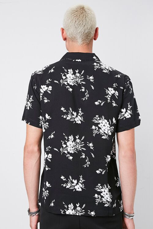 Classic Fit Floral Print Shirt, image 3
