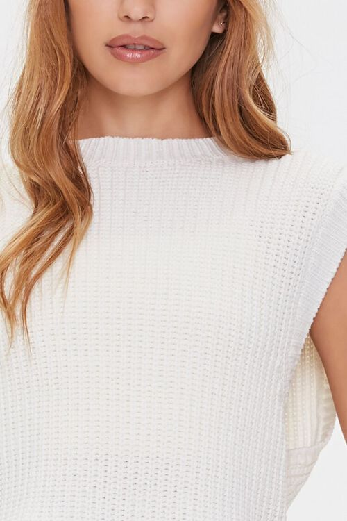 Ribbed Sweater-Knit Vest, image 5