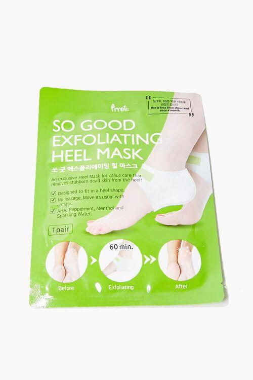 GREEN Exfoliating Heel Mask, image 1