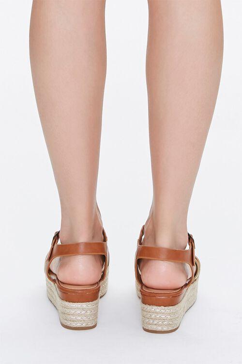 Strappy Espadrille Platform Sandals, image 3