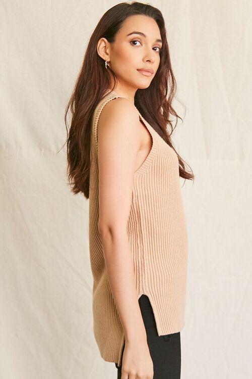 OATMEAL Sweater-Knit Tank Top, image 2