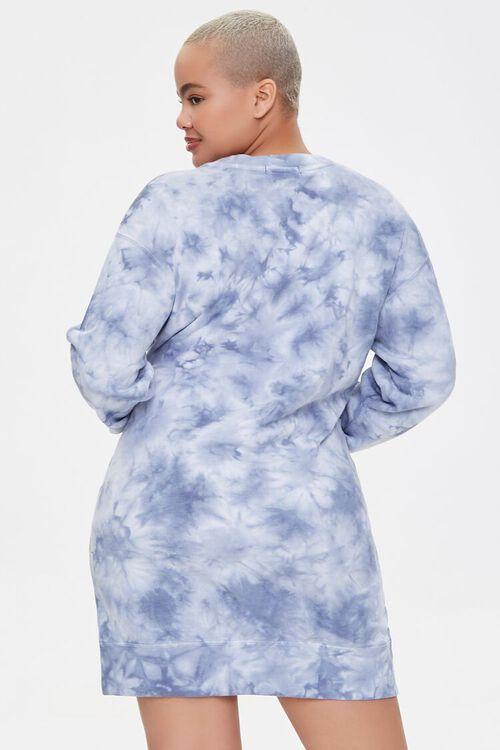 Plus Size Floral Graphic Sweatshirt Dress, image 3