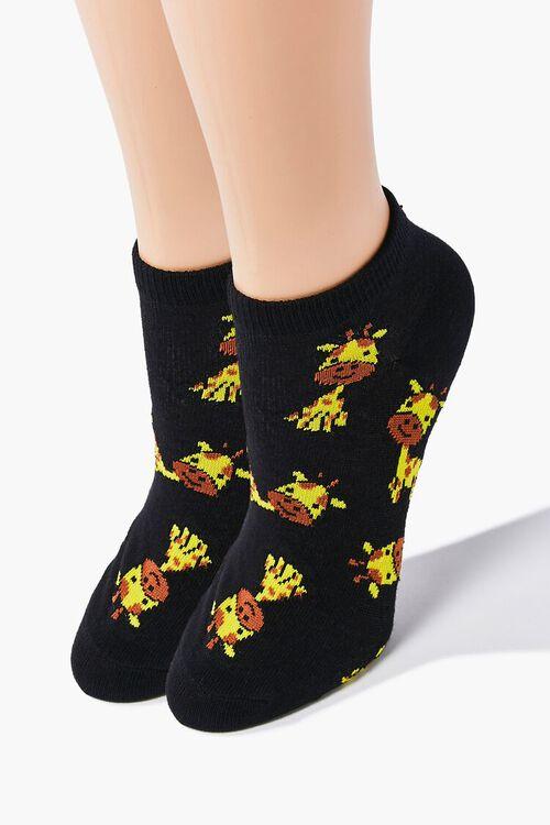 Giraffe Ankle Socks, image 1