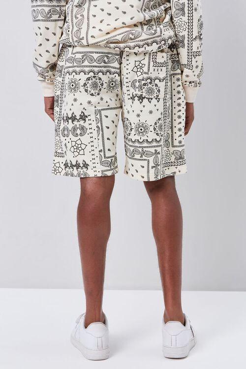 Ornate Print Drawstring Shorts, image 4