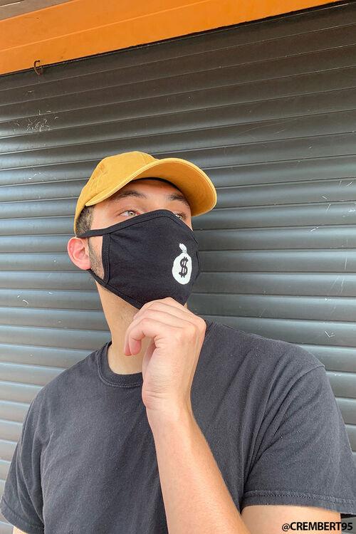 Men Money Bag Face Mask, image 1