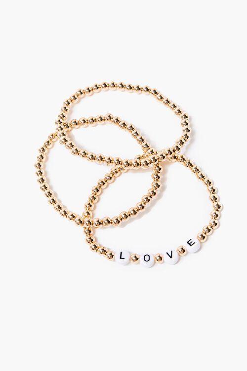 Love Beaded Bracelet Set, image 1
