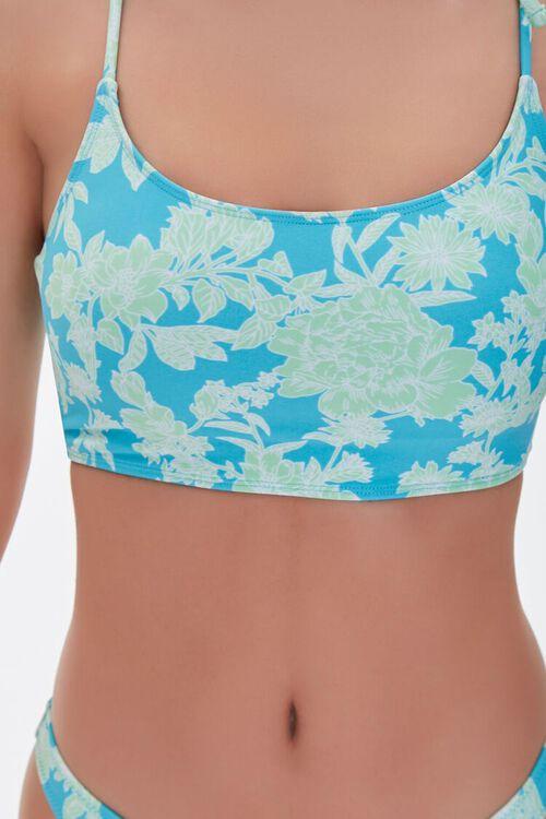 Floral Bralette Bikini Top, image 4
