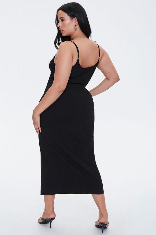 Plus Size Slit Bodycon Dress, image 3