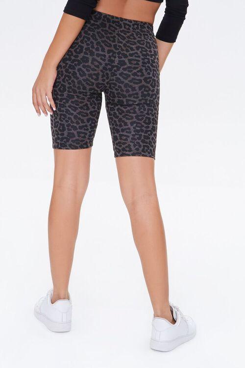 Leopard Print Biker Shorts, image 4
