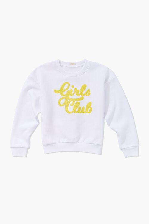 Girls Girls Club Graphic Sweatshirt (Kids), image 3