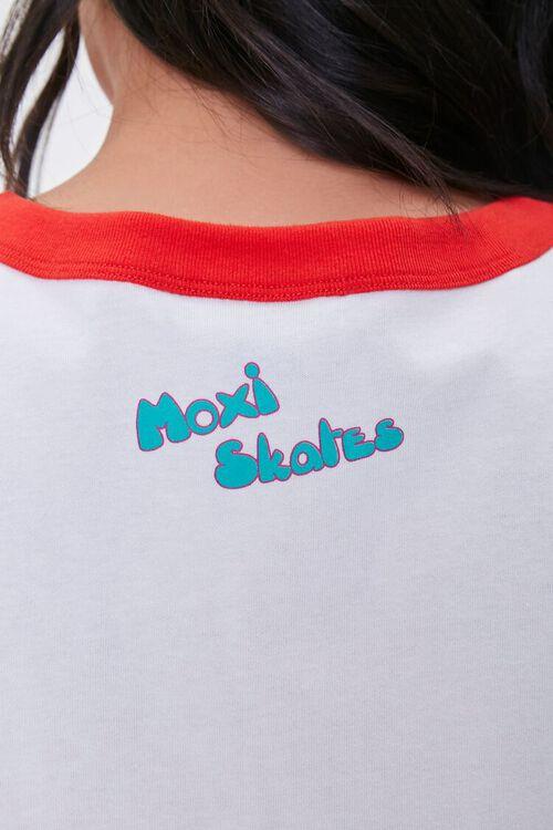 Plus Size Moxi Skates Ringer Tee, image 6