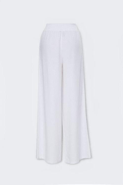 Linen-Blend Wide-Leg Pants, image 2