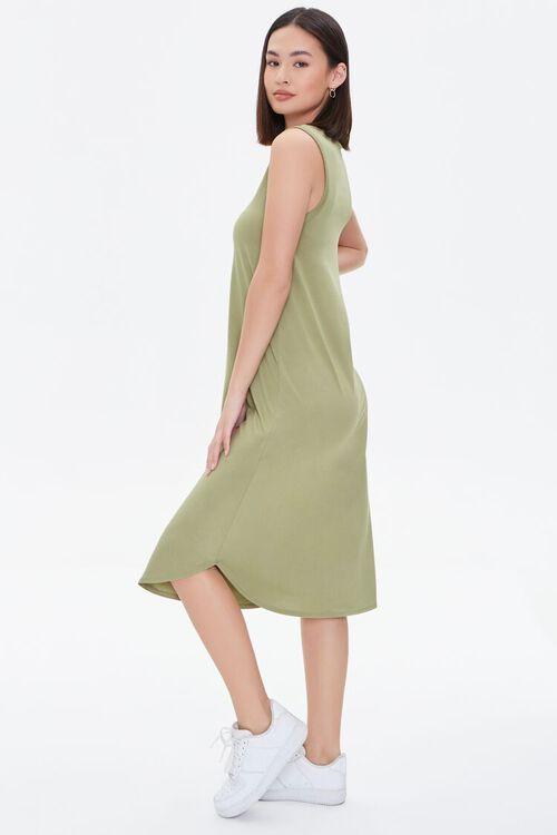 Dolphin-Hem Tank Dress, image 2