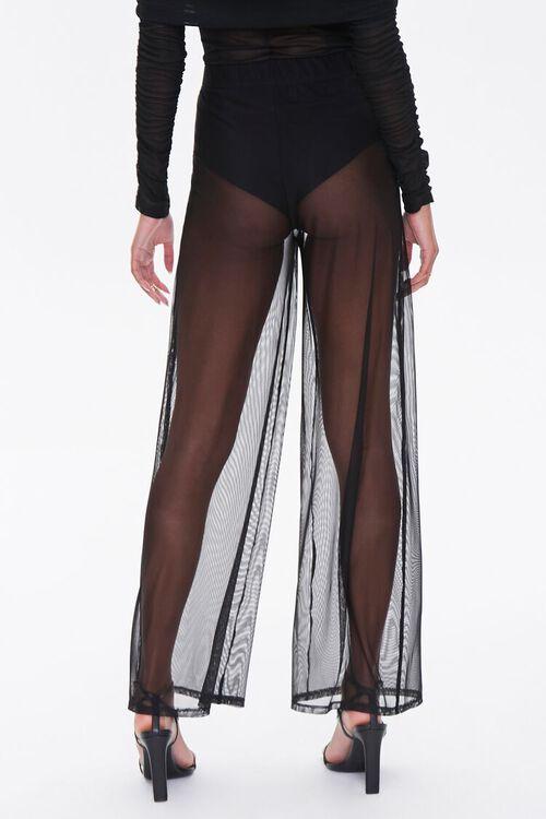 Mesh Wide-Leg Pants, image 4