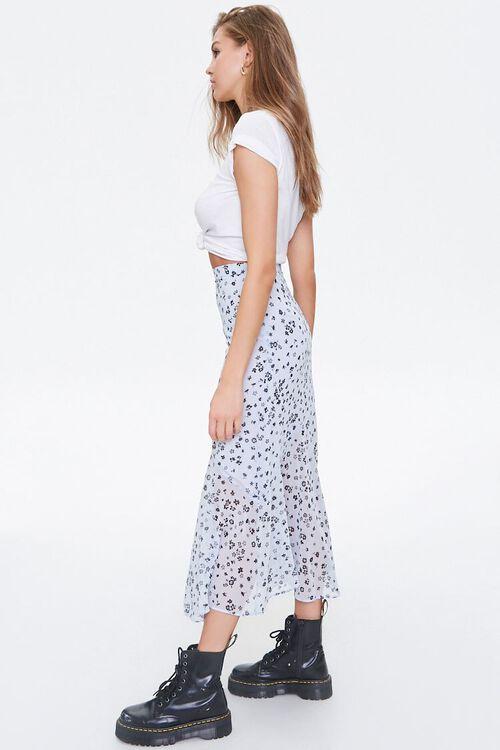 Chiffon Floral Maxi Skirt, image 3
