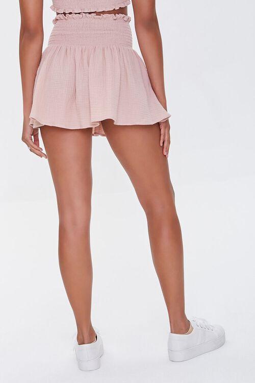 Smocked Mini Skirt, image 4